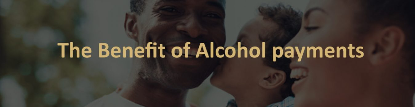 The benefit of alcohol payments